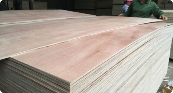 okoume packing plywood sheet